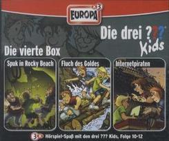 Die drei ???-Kids - Die 4. Box, 3 Audio-CDs - Box.4