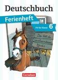 Deutschbuch Gymnasium, Ferienheft: Fit für Klasse 6 - Der Fall des verschwundenen Pferds