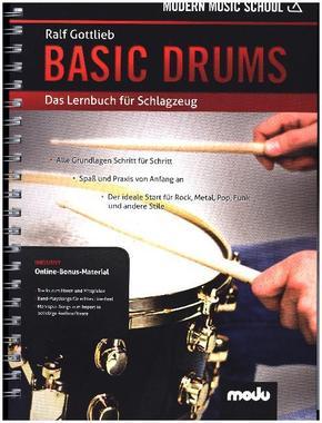 Basic Drums, m. Online-Materialien