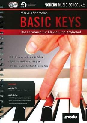 Basic Keys, m. Audio-CD + DVD-ROM