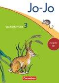 Jo-Jo Sachunterricht, Ausgabe N (Neubearbeitung 2012): 3. Schuljahr, Schülerbuch