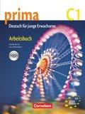 Prima - Deutsch für Jugendliche/junge Erwachsene: Arbeitsbuch, m. Audio-CD; Bd.7