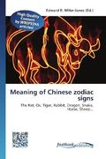 Meaning of Chinese zodiac signs