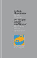 Gesamtausgabe: Die lustigen Weiber von Windsor; The Merry Wives of Windsor; Bd.24
