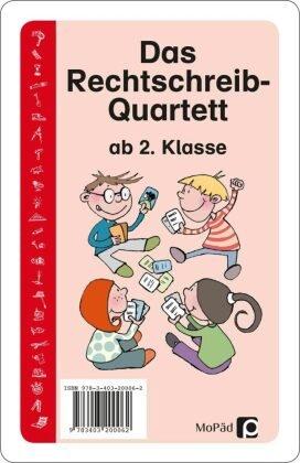 Das Rechtschreib-Quartett (Kartenspiel)