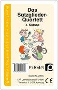 Das Satzglieder-Quartett (Kartenspiel)