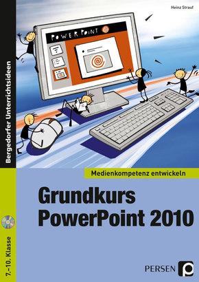 Grundkurs PowerPoint 2010, m. CD-ROM