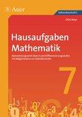 Hausaufgaben Mathematik Klasse 7