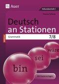 Deutsch an Stationen SPEZIAL - Grammatik 7/8