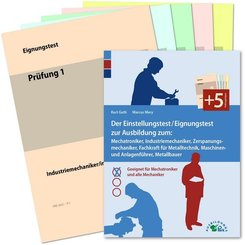 Der Eignungstest / Einstellungstest zur Ausbildung zum Mechatroniker, Industriemechaniker, Zerspanungsmechaniker, Teilez