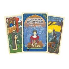Mystisches Lenormand, Die vier medialen Zusatzkarten, 4 Karten