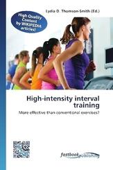 High-intensity interval training