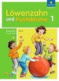 Löwenzahn und Pusteblume, Ausgabe 2009: 1. Schuljahr, Arbeitsheft Grundschrift Teil B