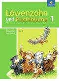 Löwenzahn und Pusteblume, Ausgabe 2009: 1. Schuljahr, Arbeitsheft Grundschrift Teil A