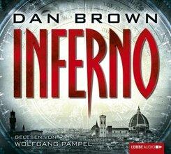 Inferno, 6 Audio-CDs