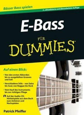 E-Bass für Dummies, m. Audio-CD
