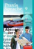 Praxis Sprache, Allgemeine Ausgabe 2010: 9. Schuljahr, Arbeitsheft m. CD-ROM