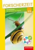Forscherzeit - Themenhefte für den Sachunterricht: Schulhofsafari - Tiere und Pflanzen in der Umgebung, 2./3. Schuljahr, Schülerheft