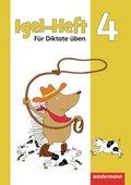 Igel-Hefte: Für Diktate üben: Arbeitsheft 4
