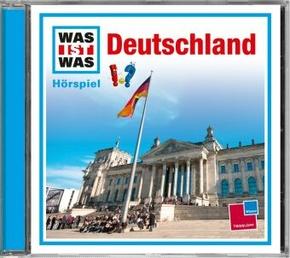 Deutschland, 1 Audio-CD - Was ist was Hörspiele