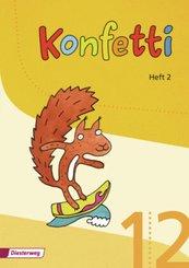 Konfetti, Ausgabe 2013: Konfetti-Heft - H.2