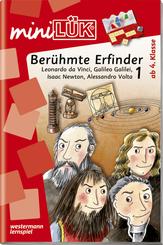 miniLÜK: Berühmte Erfinder 1: Leonardo da Vinci, Galileo Galilei, Isaac Newton, Alessandro Volta