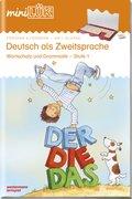 miniLÜK: Deutsch als Zweitsprache, Wortschatz und Grammatik - Stufe 1