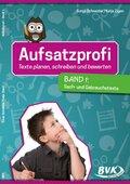 Aufsatzprofi - Texte planen, schreiben und bewerten: Sach- und Gebrauchstexte; Bd.1