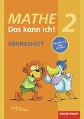 Mathe - Das kann ich!: Klasse 2, Übungsheft