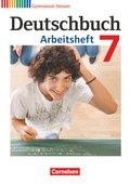 Deutschbuch, Gymnasium Hessen: 7. Schuljahr, Arbeitsheft