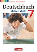 Deutschbuch, Gymnasium Rheinland-Pfalz: 7. Schuljahr, Arbeitsheft
