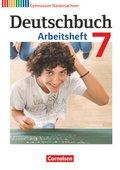 Deutschbuch, Gymnasium Niedersachsen: 7. Schuljahr, Arbeitsheft