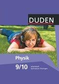 Duden Physik, Ausgabe Gymnasium Thüringen, Neubearbeitung: 9./10. Schuljahr, Arbeitsheft