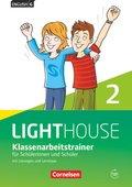 English G Lighthouse, Allgemeine Ausgabe: 6. Schuljahr, Klassenarbeitstrainer für Schülerinnen und Schüler, mit Lösungen und Audios online; 2