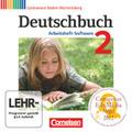 Deutschbuch, Gymnasium Baden-Württemberg, Neubearbeitung: 6. Schuljahr, Arbeitsheft-Software; Bd.2