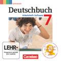 Deutschbuch, Gymnasium, Arbeitsheft-Software: 7. Schuljahr, Übungs-CD-ROM zum Arbeitsheft