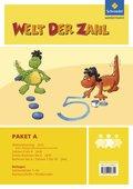 Welt der Zahl - Inklusionsmaterialien: Zahlenraum bis 10 (Paket); H.A1-A4