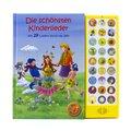 27-Button-Soundbuch, Die Schönsten Kinderlieder, Mit 27 Liedern durch das Jahr