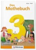 """Das Mathebuch, Neubearbeitung: 3. Klasse, Schülerbuch m. CD-ROM """"Mathetiger Basicversion"""""""