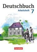 Deutschbuch, Gymnasium Östliche Bundesländer und Berlin: 7. Schuljahr, Arbeitsheft