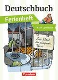 Deutschbuch Gymnasium, Ferienheft: Fit fürs Gymnasium - Das Rätsel der schlafenden Tiere
