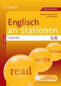 Englisch an Stationen SPEZIAL - Textarbeit 5/6, m. Audio-CD