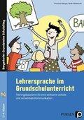 Lehrersprache im Grundschulunterricht, m. DVD-ROM