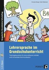 Lehrersprache im Grundschulunterricht, m. 1 CD-ROM