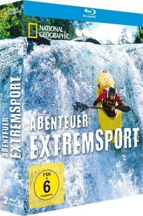 National Geographic - Abenteuer Extremsport, Vol.1 &2 (2 Blu-rays)