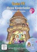 Lieder-TV: Meine Kinderlieder, m. DVD - Bd.1