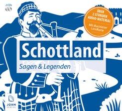 Schottland - Sagen und Legenden, 2 Audio-CDs