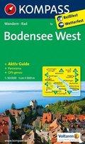 Kompass Karte Bodensee, West