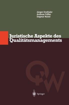Juristische Aspekte des Qualitätsmanagements