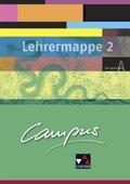 Campus, Ausgabe A: Lehrermappe Basis, m. CD-ROM; Bd.2